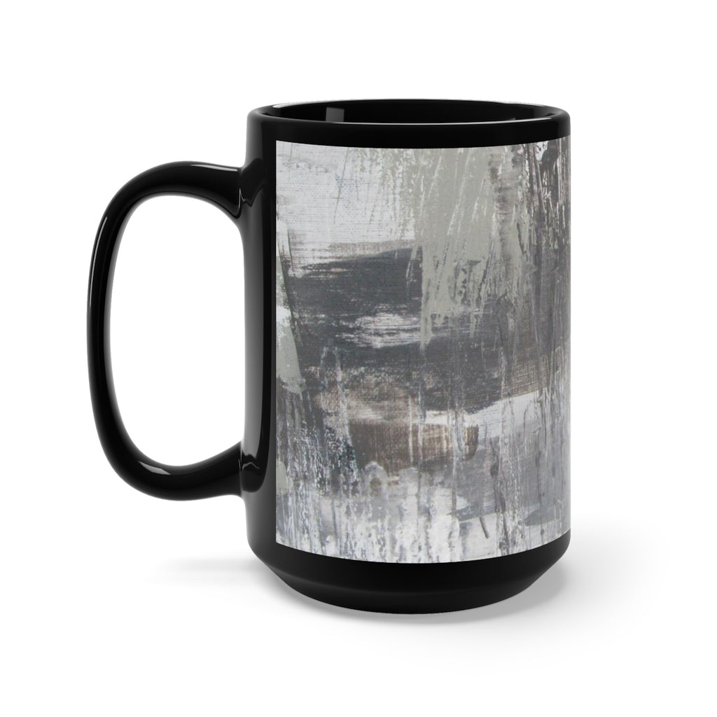 Coffee Mug feat. Abstract Art-Kameron
