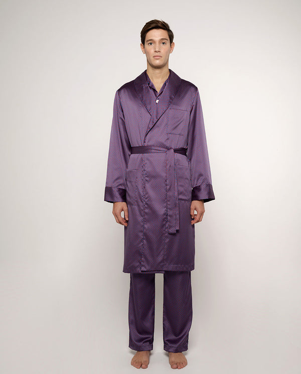 PRINTED SATIN PYJAMA by MIRTO