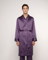 PRINTED SATIN ROBE by MIRTO