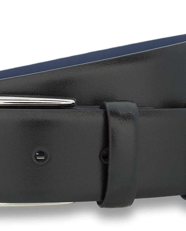 BLACK DRESS BELT