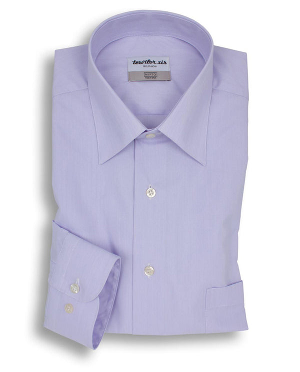 PURPLE CLASSIC EASY-IRON TERVILOR SIR SHIRT by MIR