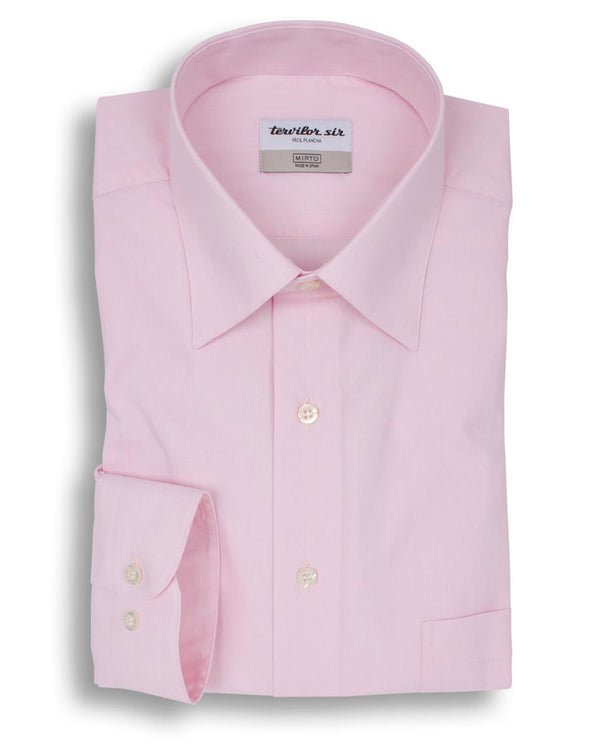 PINK CLASSIC EASY-IRON TERVILOR SIR SHIRT by MIRTO