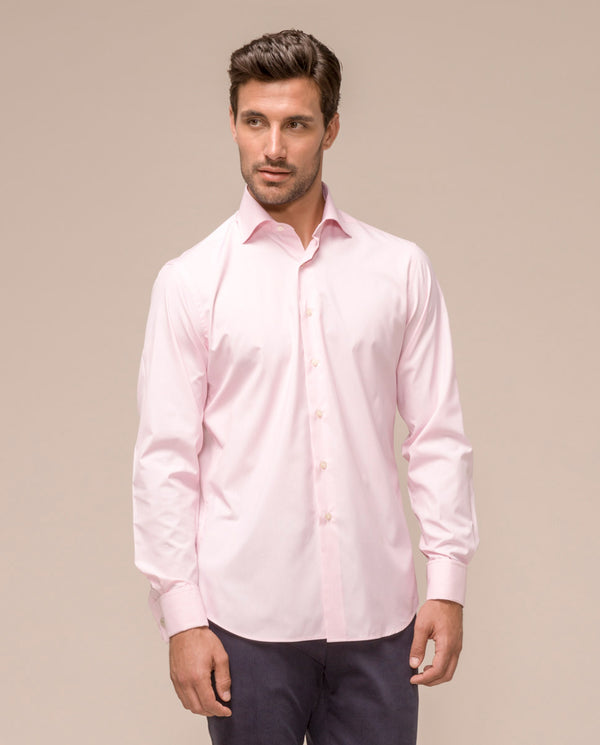 PINK SPREAD-COLLAR TERVILOR SIR SHIRT by MIRTO