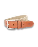 BEIGE ELASTIC SPORTS BELT by MIRTO