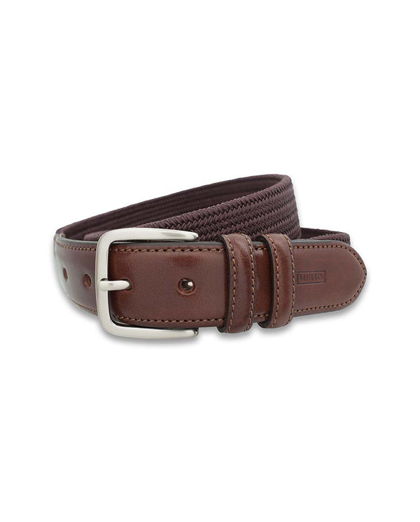 BURGUNDY ELASTIC SPORTS BELT