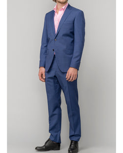 ROYAL BLUE  WOOL SUIT