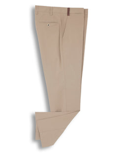 CASUAL STRETCH-COTTON PANTS