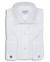 SPREAD COLLAR TAILORED FIT DRESS SHIRT