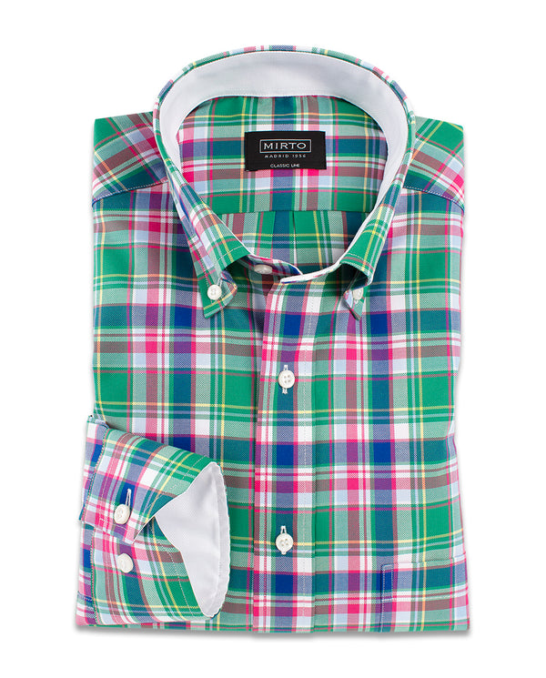 BUTTON DOWN COLLAR SHIRT by MIRTO