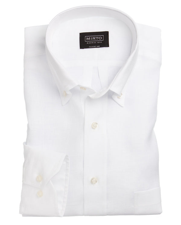 BUTTON DOWN-COLLAR SHIRT