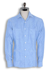GUAYABERA WITH 4 POCKETS by MIRTO