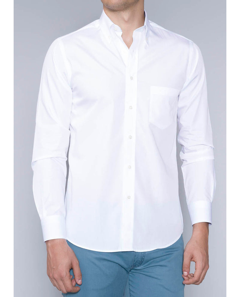 BUTTON DOWN COLLAR CASUAL SHIRT