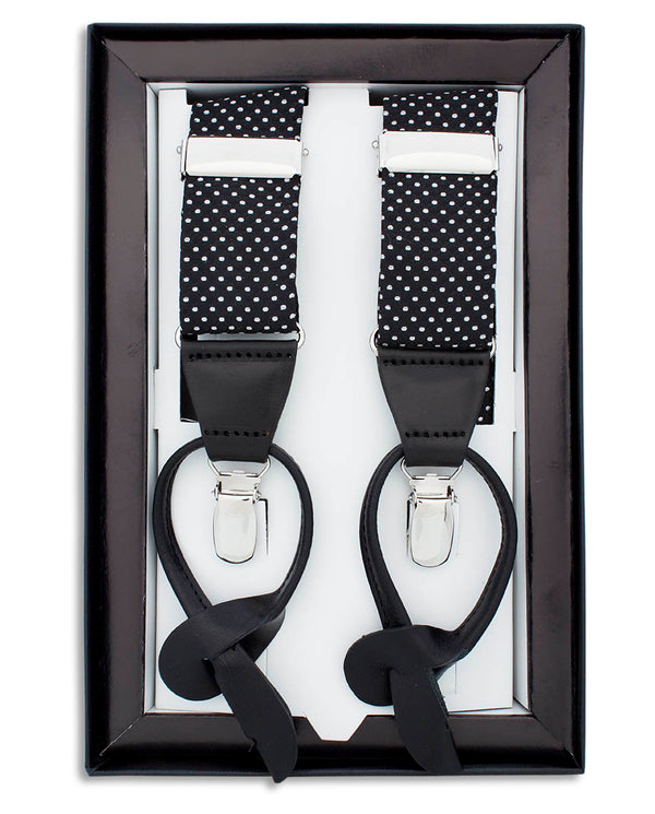PRINTED CLIP & BUTTON BRACES by MIRTO