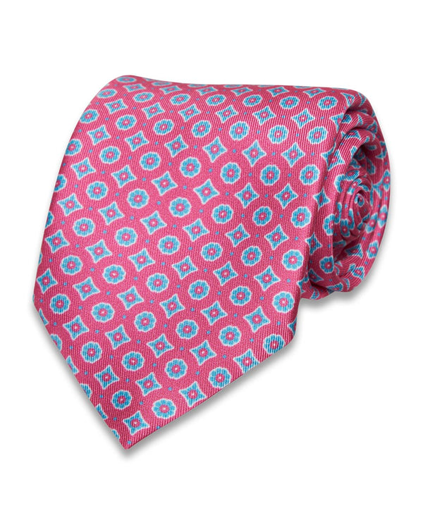 PRINTED SILK TIE by MIRTO