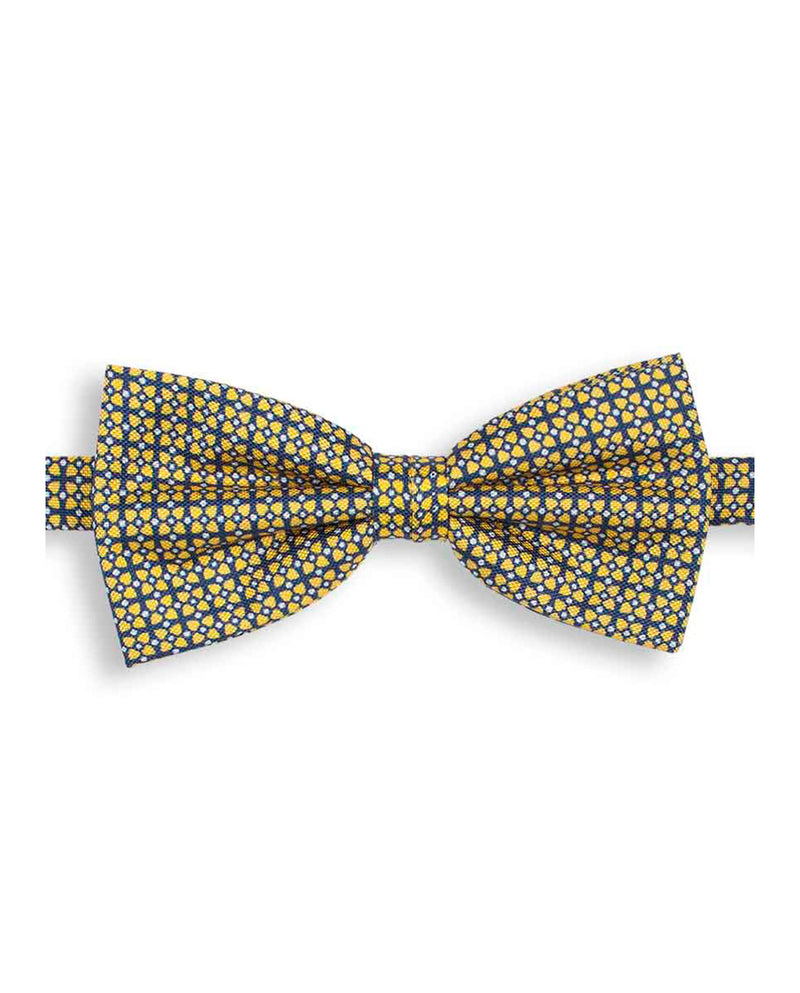 PRINTED SILK BOW-TIE by MIRTO