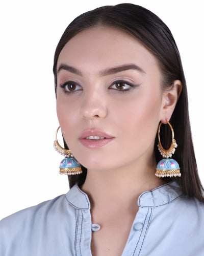 FAREEDA MEENAKARI EARRINGS