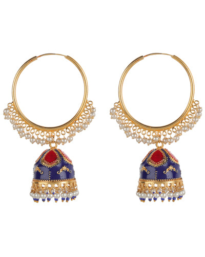 SAIRA MEENAKARI EARRINGS