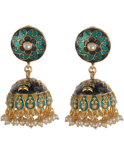 DIYA MEENAKARI EARRINGS