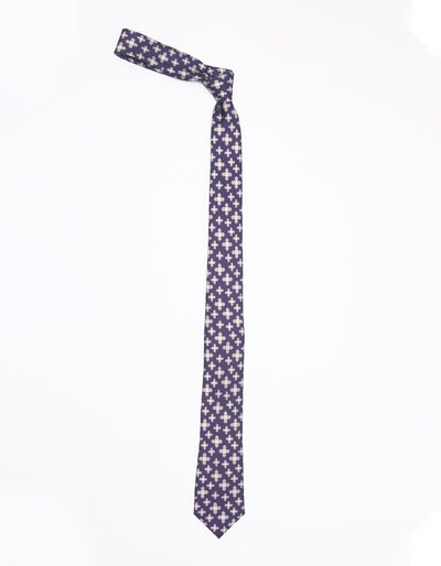 ESQUE 'CROSS PATTERN NECK TIE