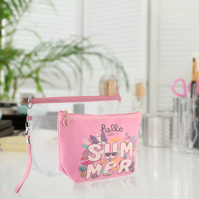 Hello summer- multipurpose makeup pouch set of 2
