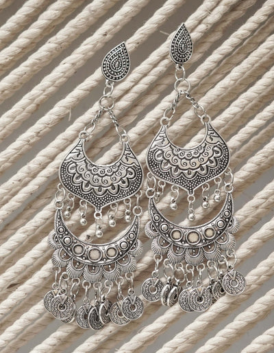 NOOR OXIDISED EARRINGS