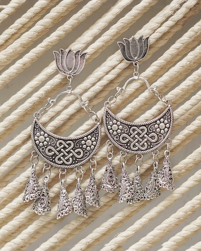 NAAZ OXIDISED EARRINGS