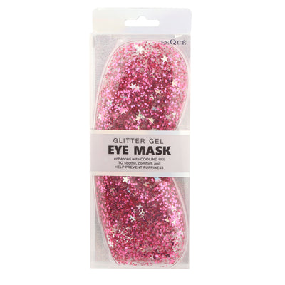 Glitter Gel Eye Mask Pink