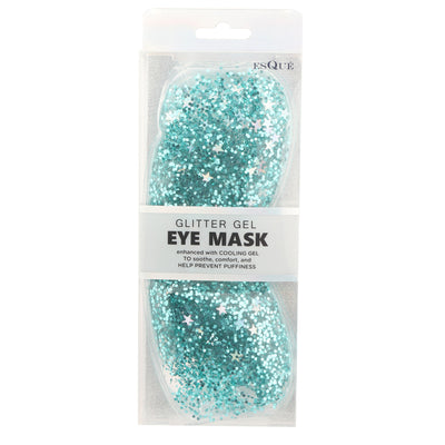 Glitter Gel Eye Mask Green