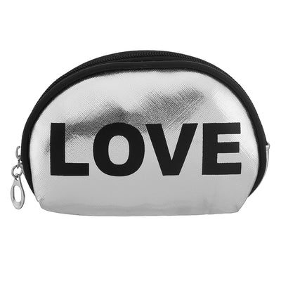 Silver love- multipurpose makeup pouch set of 3