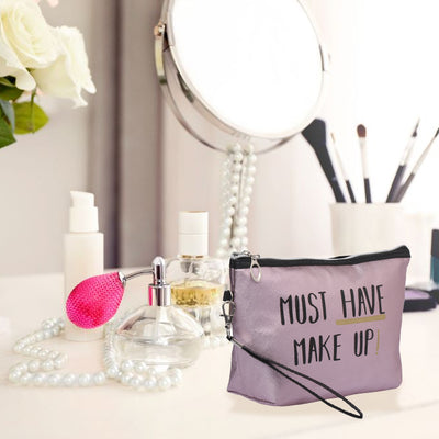 Must have makeup purple - multipurpose utility pouch