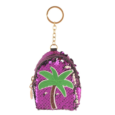 Purple Tree -Bling lipstick /mini coin pouch