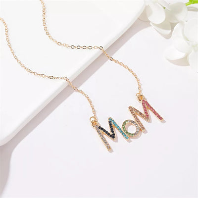 MOM pendant gold