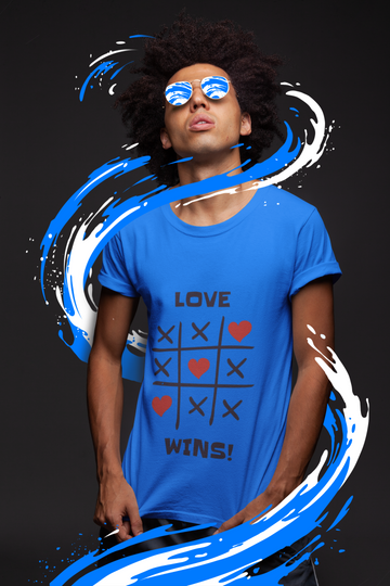 Love Wins Classic Heavy Cotton Adult T-Shirt