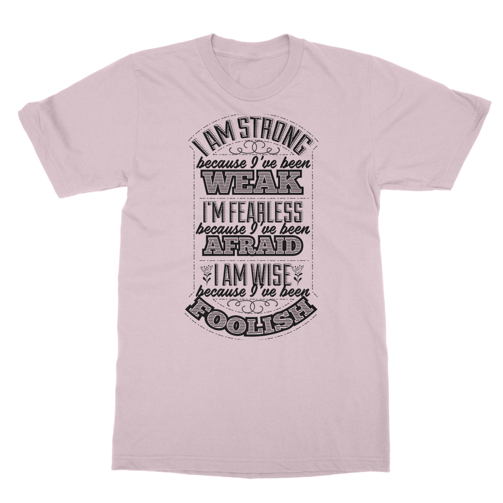 I am strong Classic Heavy Cotton Adult T-Shirt - Big Badda Boom