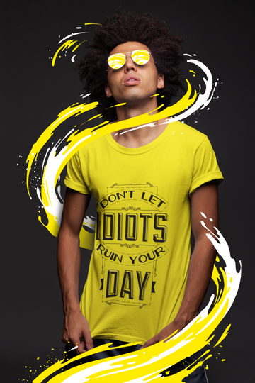 Idiot Classic Heavy Cotton Adult T-Shirt - Big Badda Boom