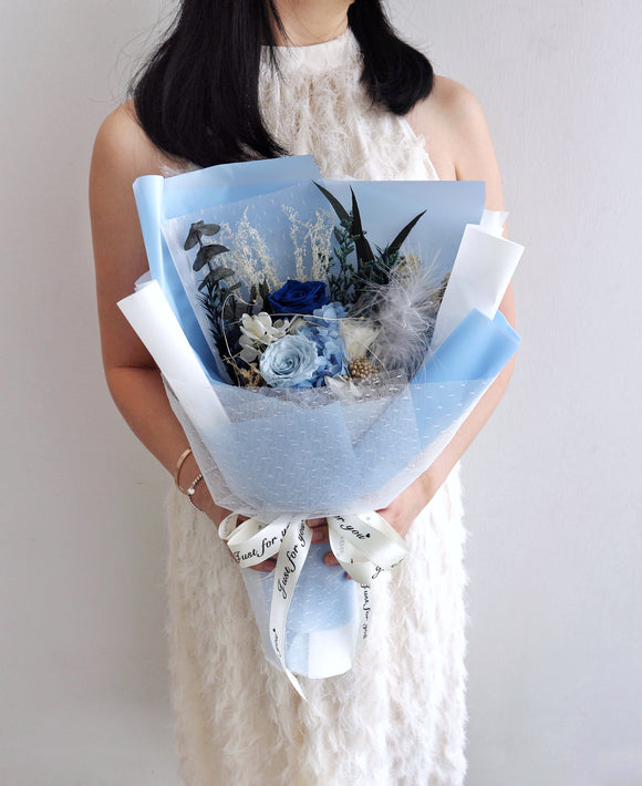 Blue Bliss Bouquet
