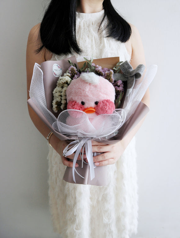 Cutie Duckie Bouquet in Pink [Last Piece]