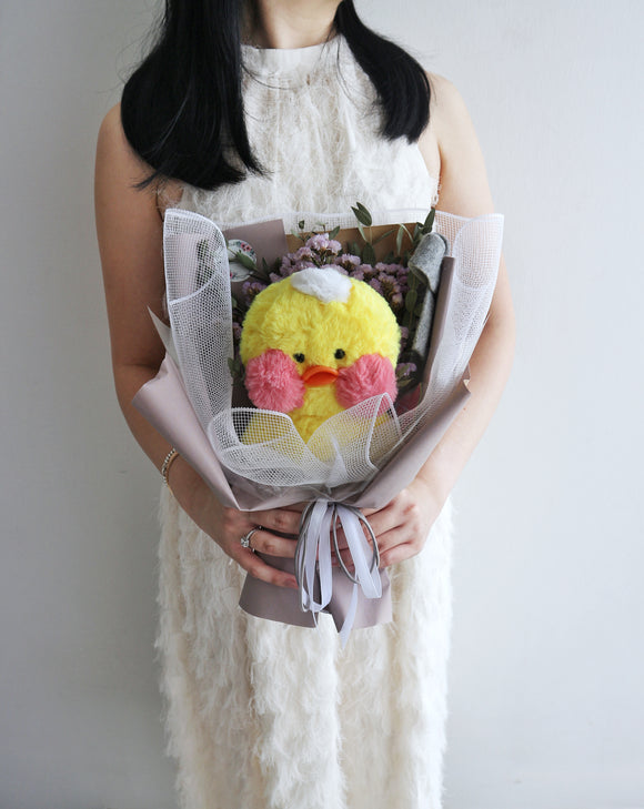 Cutie Duckie Bouquet in Yellow
