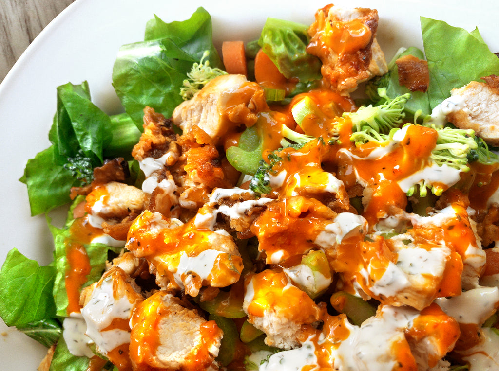 Blonde Beard's Buffalo Chicken Salad