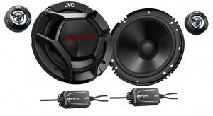 "JVC CS-DR600C 6"" Component Speakers"