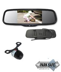 Parksafe CD-CM079 - 5″ Clip-On Mirror Monitor & Camera Combo