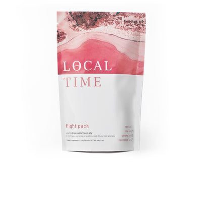 flight pack - your  complete  travel wellness ritual - onlocaltime