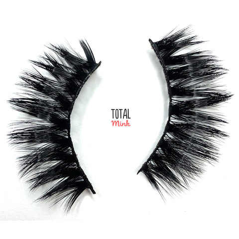 18mm faux mink lash 100% cruelty free, the best fake lash brand
