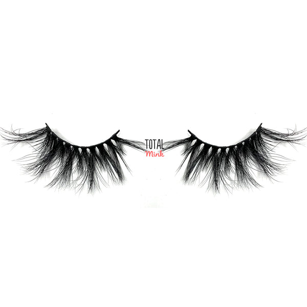 Authentic mink fake lashes for asian eyes