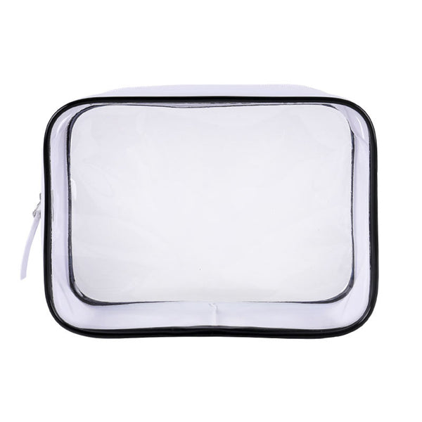 Transparent Cosmetics Makeup Case