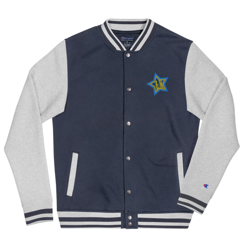 Embroidered 6N STAR Bomber Jacket