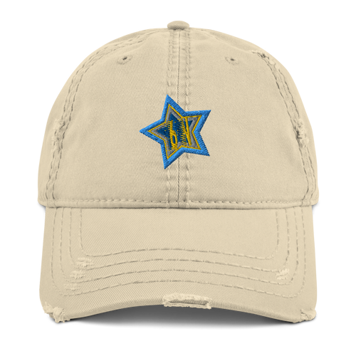 6n STAR Distressed Cap