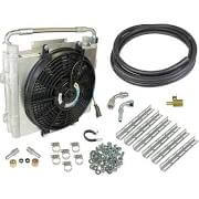 BD-Power Xtruded Double-Stacked Auxiliary Trans Cooler Kit 1030606-DS-12