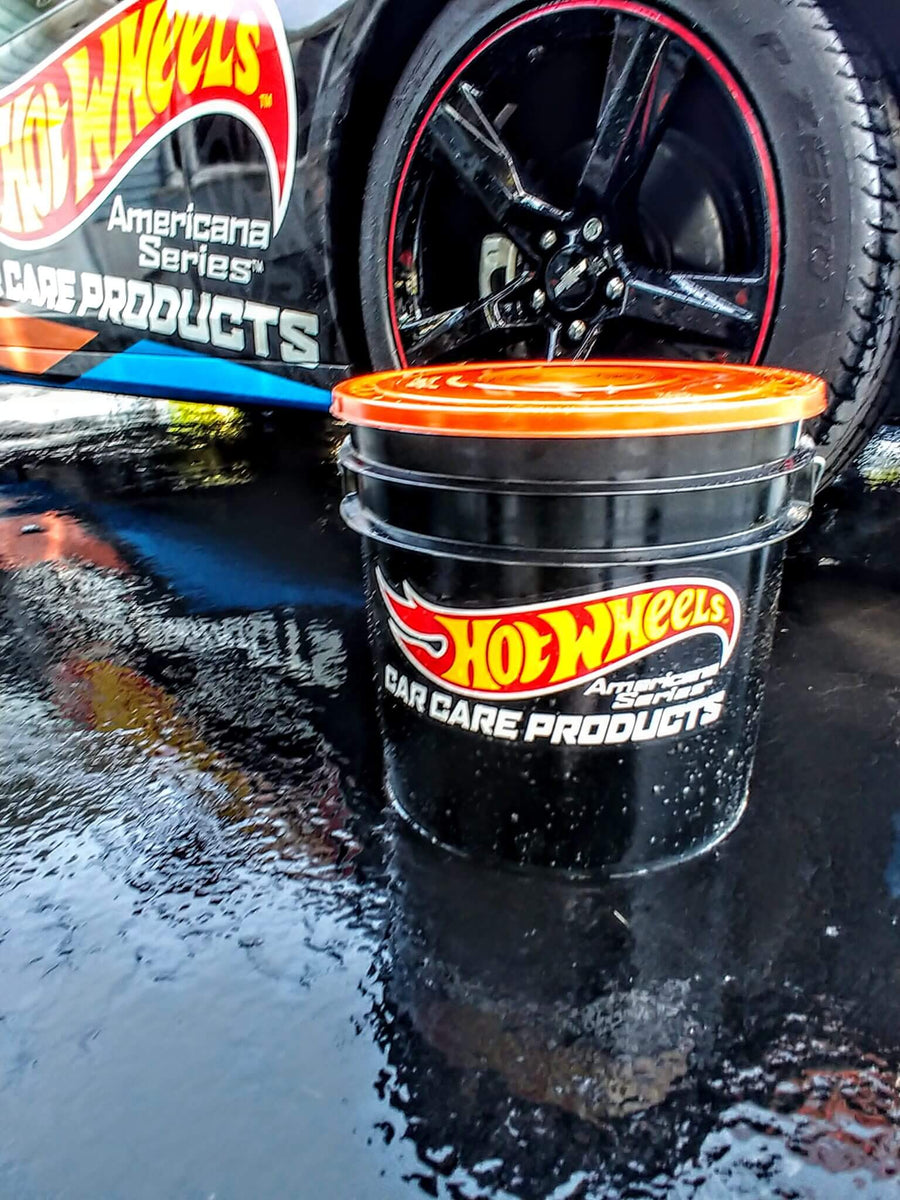 Hot Wheels Car Care Cleaning Product Bucket