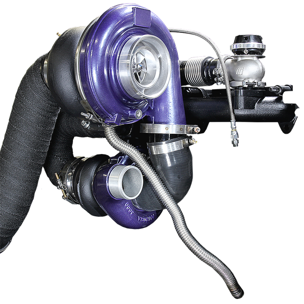 ATS Aurora 3000/5000 Twin Turbo Kit, Dodge 1994-1998 12v